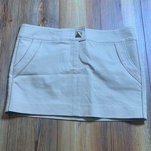 Marciano Studded Khaki Mini Skirt Sz 8